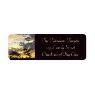 Peace on Earth Return Address Labels by RoseWrites