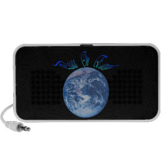 Peace on Earth iPod Speaker