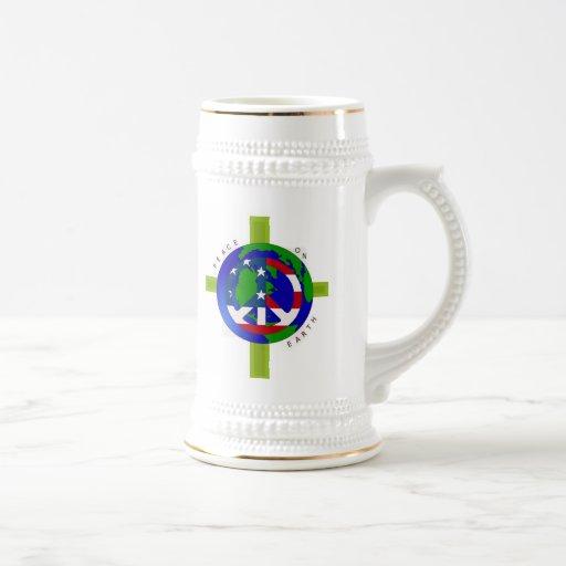 Peace On Earth Stein Mug