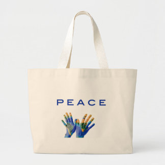 Peace on Earth Tote Bags