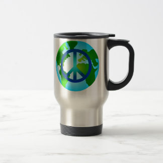 Peace on Earth Travel Mug