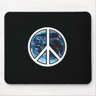 peace on earth white mousepad