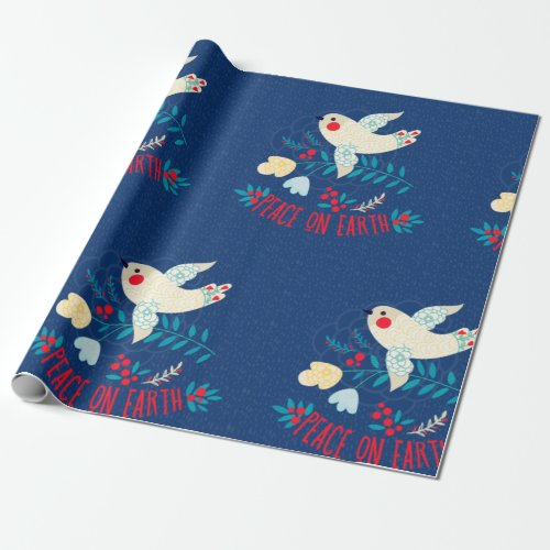 Peace On Earth Wrapping Paper