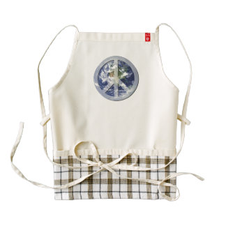 peace on earth zazzle HEART apron