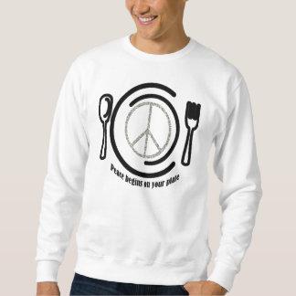 Peace on Plate Sweatshirt