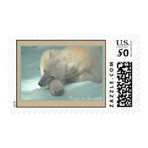 Peace on the earth - Polar Bear Postage
