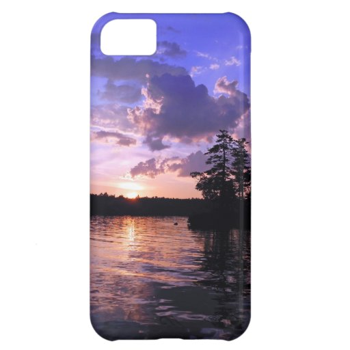 Peace on the Land Tranquil Scenic Twilight Case For iPhone 5C