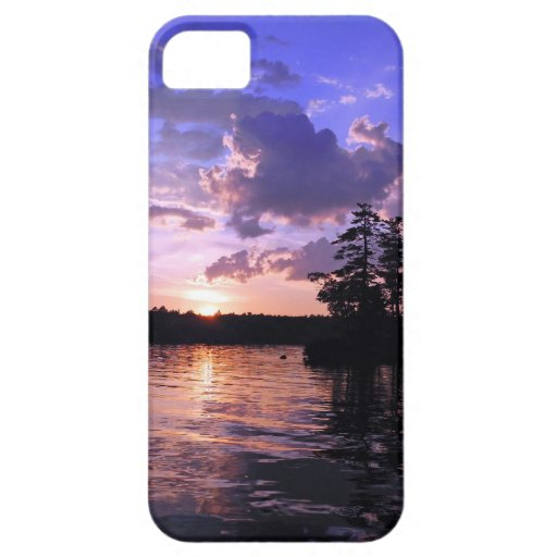 Peace on the Land Tranquil Scenic Twilight iPhone 5 Case
