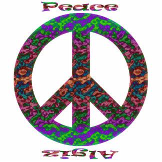 Peace or Algiz Ornament Photo Cutouts