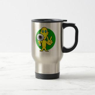 Peace or Die Alien Mugs