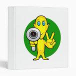 Peace or Die Alien Vinyl Binders