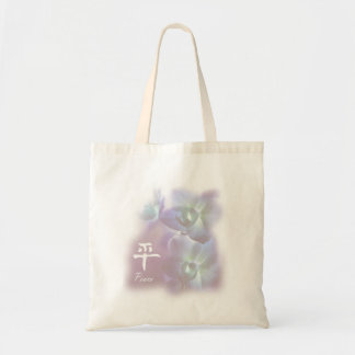 Peace Orchids small Bags