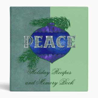 Peace Ornament Binder