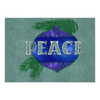 Peace Ornament Card