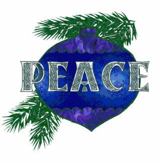 Peace Ornament Photo Sculpture