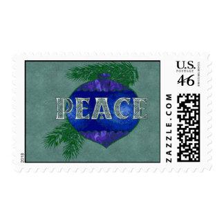 Peace Ornament Postage