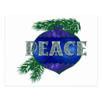 Peace Ornament Postcard