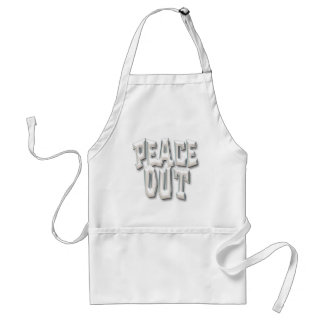 Peace Out_6 Adult Apron