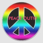 peace out awesome sticker!!