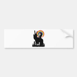 Peace Out Bumper Sticker