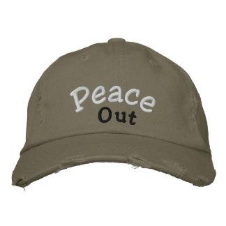 """""""Peace Out"""" Cap"""
