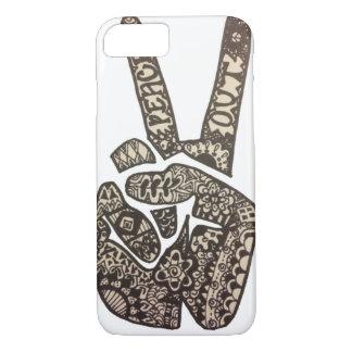 """Peace Out"" Design iPhone 7 Case"