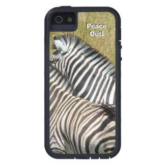 Peace Out! iPhone 5 cases Zebra Safari Africa