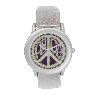 Peace out! Kids custom watch