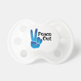 Peace Out BooginHead Pacifier