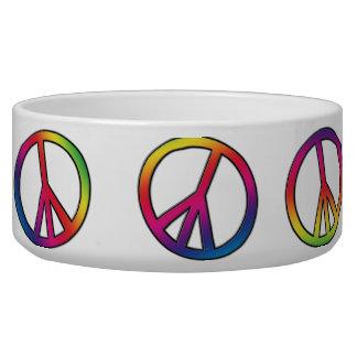 Peace Out Pet Bowls
