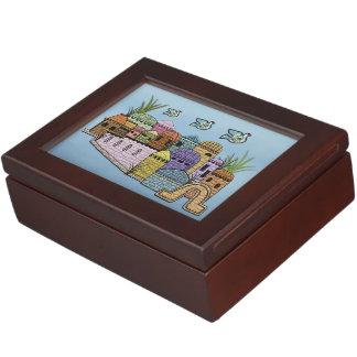 Peace over Jerusalem Memory Box