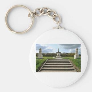 Peace Pagoda, Milton Keynes Keychain