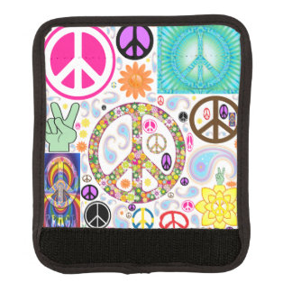 Peace & Paisley Collage Handle Wrap