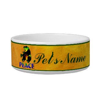 Peace Panda Bear Bowl