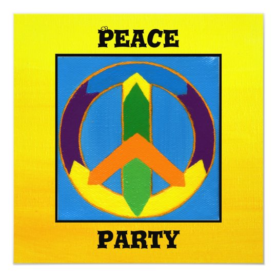 Peace Party Card