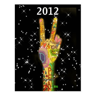 Peace Party New Year's 2012 Postcard