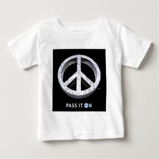 Peace: Pass It On Baby T-Shirt