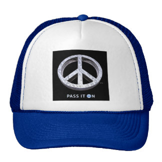 Peace: Pass It On Trucker Hat