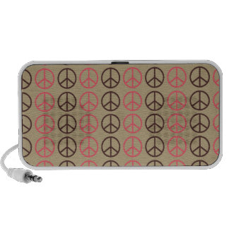 peace pattern mp3 speakers