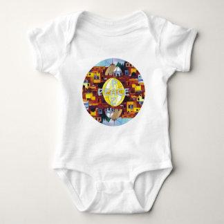 Peace-Paz Baby Bodysuit