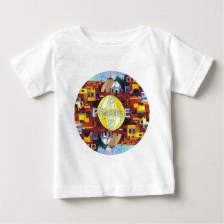 Peace-Paz Baby T-Shirt
