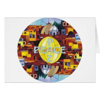 Peace-Paz Card
