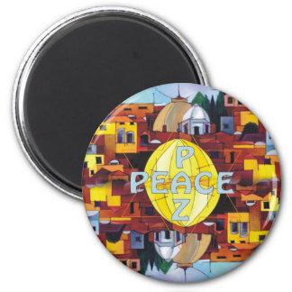 Peace-Paz Magnet