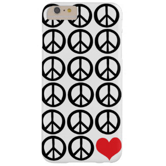 Peace peace love Case-Mate Barely There iPhone 6 P Barely There iPhone 6 Plus Case