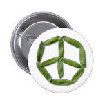 Peace Peas 2 button
