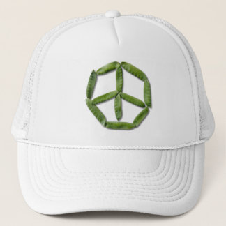 Peace Peas 2 Trucker Hat