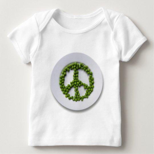 Peace Peas Infant Long Sleeve Baby T-Shirt