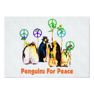 Peace Penguins Card
