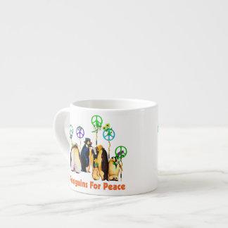 Peace Penguins Espresso Cup