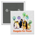 Peace Penguins Pins